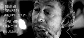 perdre un parent gainsbourg