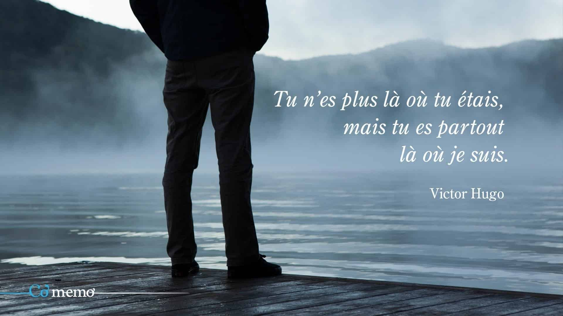 Citation deuil victor hugo